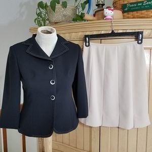 LeSuit Petite Skirt Set, sz 4P